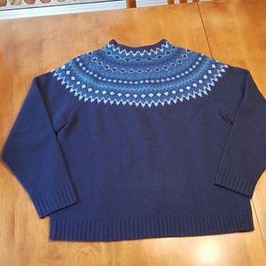 Vintage Eddie Bauer wool sweater